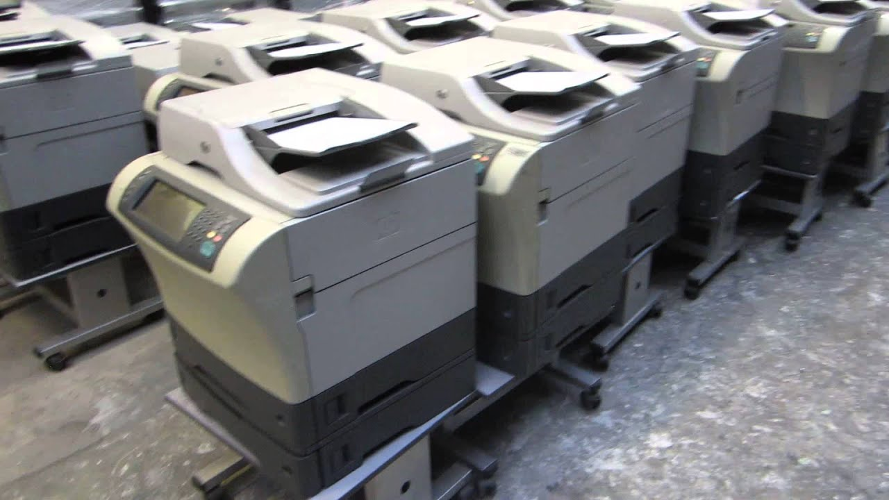 FOR SALE 49 x HP LaserJet 4345 / M4345 MFP All-in-One used ...