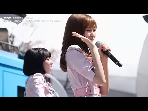 OH MY GIRL BANHANA - Banana allergy monkey ,오마이걸 반하나 - 바나나 알러지 원숭이[정오의 희망곡 김신영입니다]20180409
