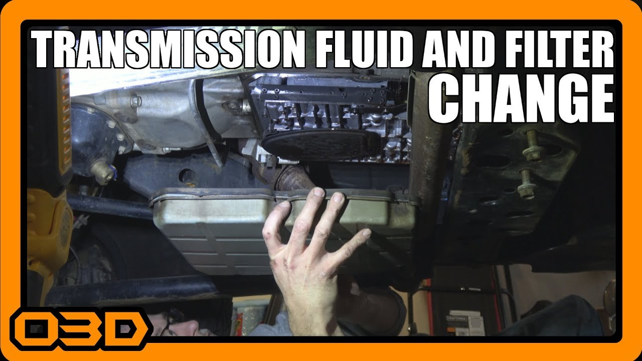 Transmission Fluid and Filter Change - Jeep Wrangler JK - W5A580 - 60,000  Mile Service - Topsider