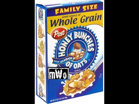 Post Honey Bunches Of Oats With Almonds. MWo's Cereal Reviews: Episode 59. Dollar Tree Find!