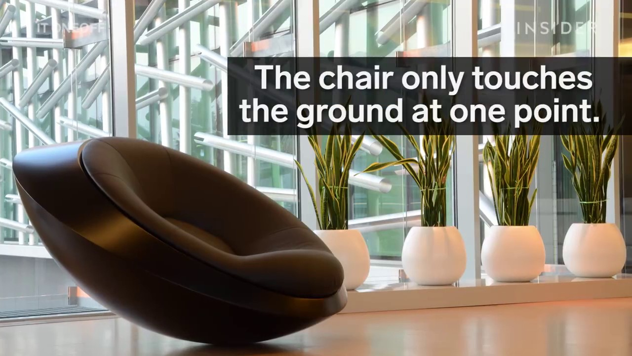This is the rocking chair of the future. - YouTube