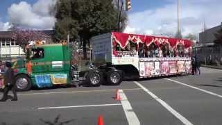Vaisakhi Parade Marine Dr Vancouver Canada April 11 2015 Sony 4K Video