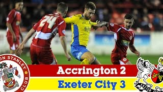 Accrington Stanley 2-3 Exeter City (28/11/14) - Sky Bet League 2 Highlights 2014/15