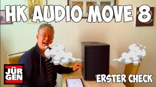 """Akku-Lautsprecher """"HK Audio MOVE 8"""" - (m)ein erster Überblick"""