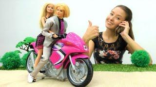 Принцесса Барби едет на конкурс красоты. Видео для девочек