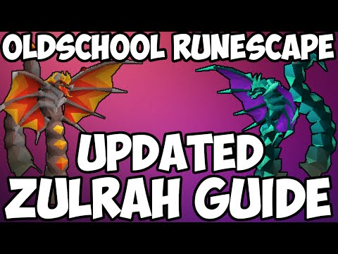 Oldschool Runescape - Full Zulrah Guide | Updated 2007 Zulrah Guide (New Rotations)