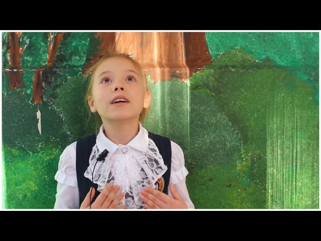 Изображение предпросмотра прочтения – СмольниковаАнастасия читает произведение «Ворона и Лисица» И.А.Крылова