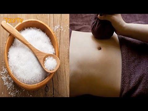 Thử ngay cách giảm mỡ bụng bằng muối siêu nhanh.