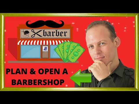 A Sample Barber Shop Business Plan Template