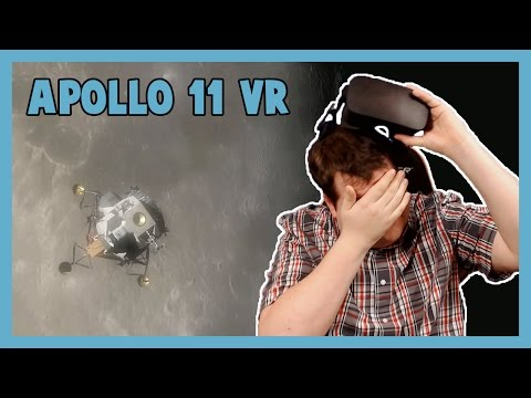 THE MOST AMAZING VR EXPERIENCE - Apollo 11 VR with the Oculus Rift CV1!