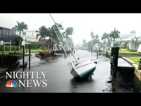 Irma: Tampa Bay Empties Out Ahead of Huge Storm Surge | NBC Nightly News