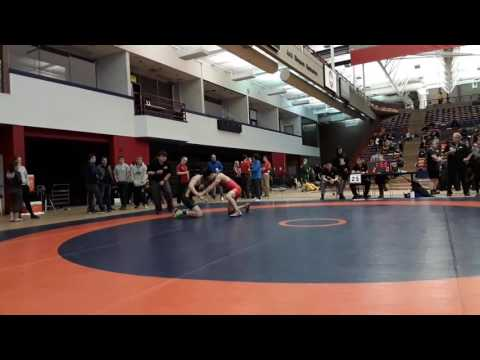 2016 Dino Invitational: 57 kg Roland Yong vs. Paul Tokarz