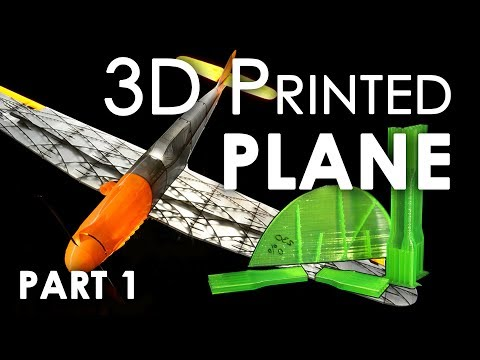 3D printed PLANE - Messerschmitt Bf 109 || PART 1 - Tuning print settings