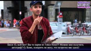 Tokio Hotel TV - New York & Cincinnati (с русскими субтитрами)