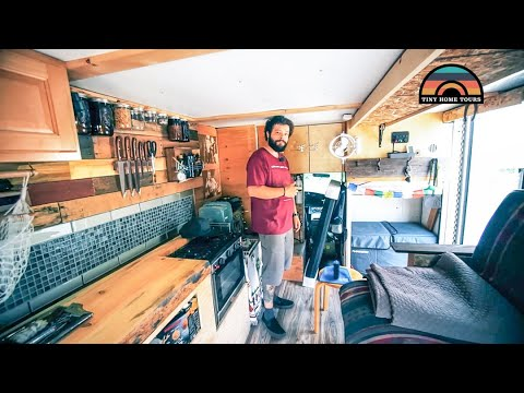 He Built A Budget DIY AMBULANCE CONVERSION - Living Simple To Pursue His Passions In Life