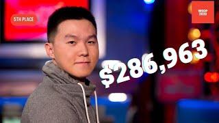 2020 WSOP Main Event Final Table:  5th Place Tony Yuan