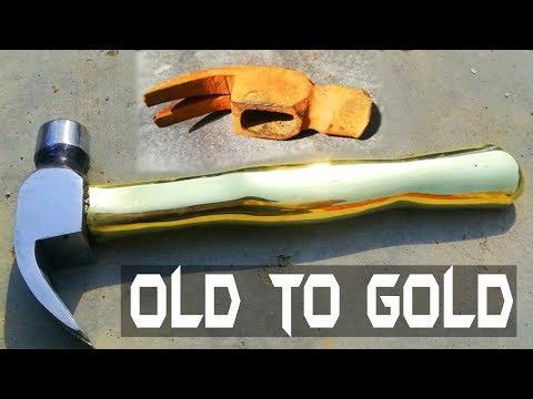 Antique Rusty Hammer RESTORATION