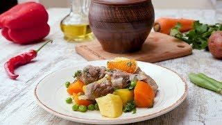 Как приготовить жаркое в горшочках - Рецепты от Со Вкусом
