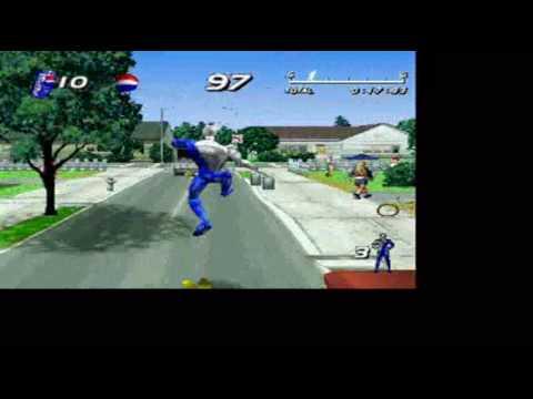 Pepsi Man Gameplay On Playstation 1