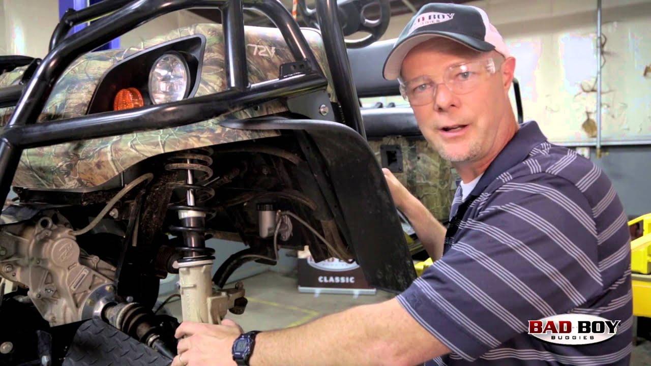 bad boy buggy garage brake bleeding service adjustments  [ 1280 x 720 Pixel ]