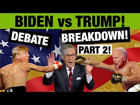 Part 2 Biden Trump Presidential Debate Body Language Breakdown Youtube
