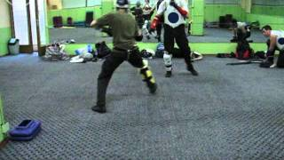 Спарринг на палках (палочный бой), stick fighting