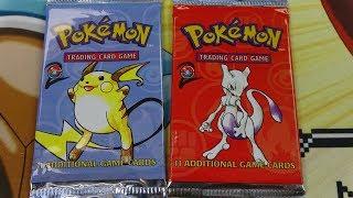 Cracking open some Pokemon Boxes