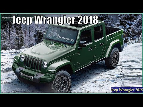 Jeep Wrangler 2018 - New Jeep Wrangler JL 2018 Review And Pics