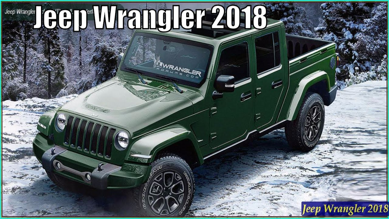 Jeep Wrangler 2018 New Jeep Wrangler JL 2018 Review And