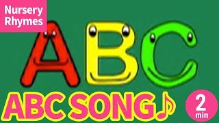 ABC Song - Alphabet Song【Nursery Rhyme, Kids Song for Children】 A...