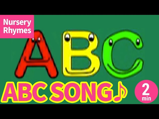 ?ABC Song - Alphabet Song?Nursery Rhyme, Kids Song for Children?