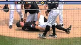 2009/08/05 Niese's injury