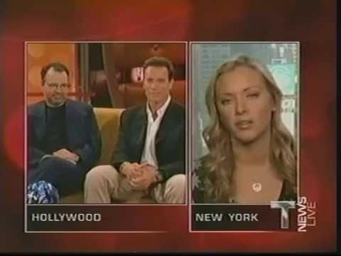 Terminator T News Live - Arnold Schwarzenegger, Jonathan Mostow, Kristanna Loken (2003)
