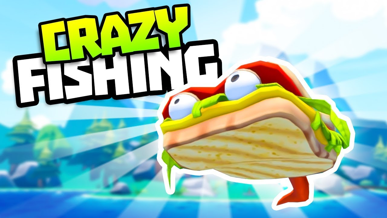 Super rare sandwich fish legendary fish in crazy fishing for Crazy fishing vr
