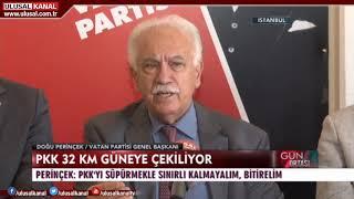 Doğu Perinçek: Rusya ve Suriye ile işbirliği yaparak PKK terörünü bitirme zamanı