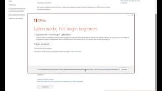 Installatie van Office 2013 vanuit Office 365