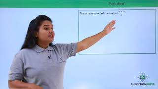Force & Laws of Motion - Newton's 2nd Law of Motion - Problem - 2