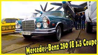Mercedes-Benz 280 SE 3.5 Coupe (W 111) 1969. Classic German Cars From the 1960s.