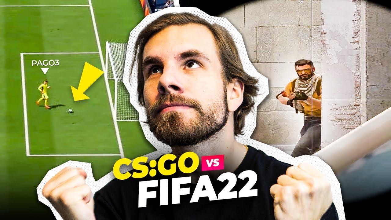 Download CS:GO vs FIFA 22! BOSKI PĄGOWSKI #61