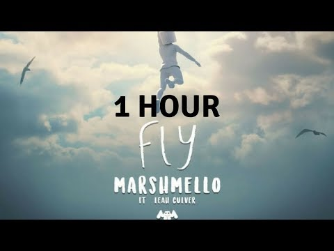 1 Hour Marshmello - Fly (feat. Leah Culver) (Official Music Video)