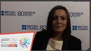 بشري تشيد بالتعاون الثقافي بين مصر وبريطانيا