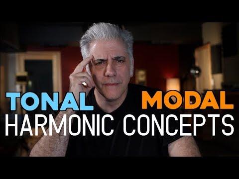 TONAL & MODAL HARMONIC CONCEPTS