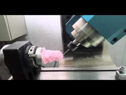 diy homemade mon 5 axis cnc rtcp milling