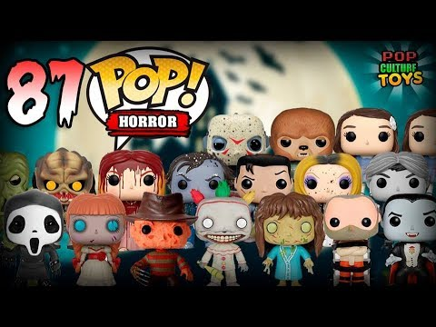 87 Figs HORROR Funko Pop