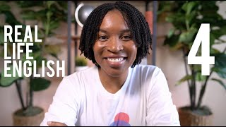 REAL LIFE ENGLISH | Spęak English Like A Native Speaker Episode 4