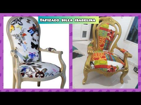 Como tapizar una silla isabelina paso a paso