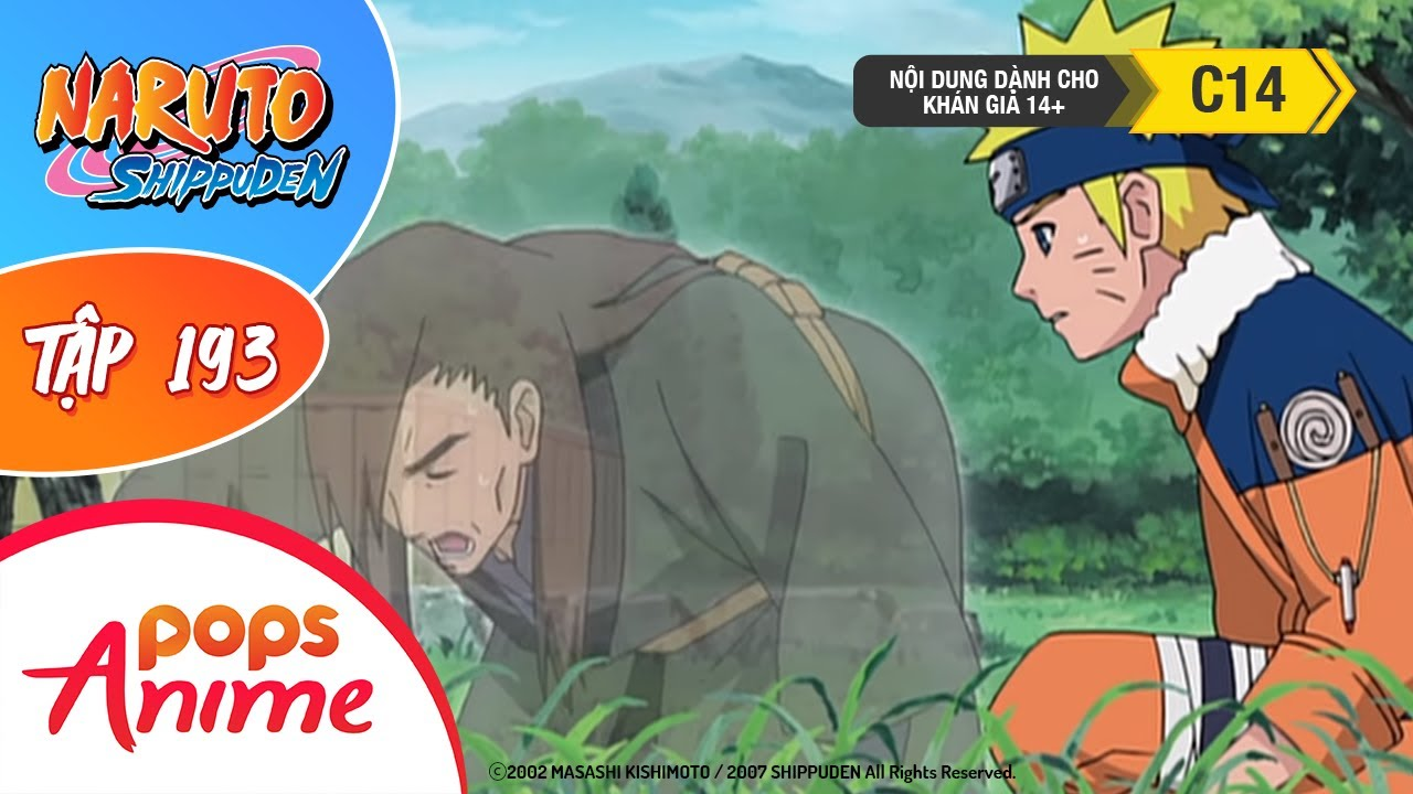Naruto Shippuden Tập 193 - Lịch Sử Của Làng Lá - Người Đàn Ông Chết Hai Lần - Trọn Bộ Naruto