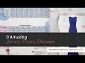 9 Amazing Jersey Prom Dresses Amazon Fashion Collection 2017