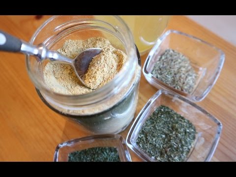 LIFE HACK: homemade VEGETABLE STOCK POWDER recipe (vegan)