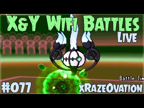 Pokemon X and Y Wifi Battle #076 (FaceCam Live) Vs. xRazeOvation - ...
